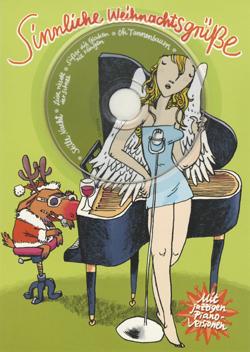 sinnliche weihnachtsgr e premium weihnachtskarten mit cd. Black Bedroom Furniture Sets. Home Design Ideas
