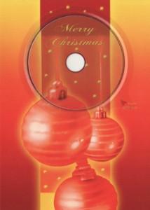 Weihnachtskarte mit Weihnachtsliedern
