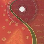 Weihnachtskarte mit Musik (rot)