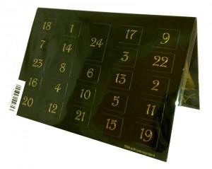 Der geheimnisvolle Kalender mit Hörbuch Rückseite