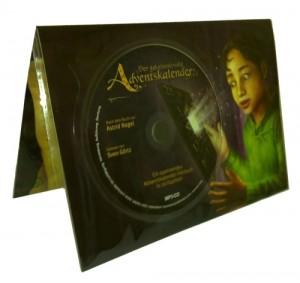 Adventskalender mit Hörbuch CD