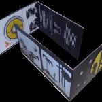 Klappkarte Panorama mit CD
