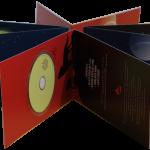 DIN lang Klappkarte mit Mini-CD