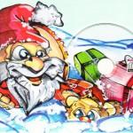 BSF Weihnachtskarte mit CD-R